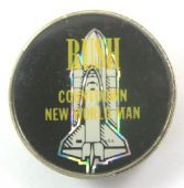 Rush - 'Countdown New World Man' Prismatic Crystal Badge